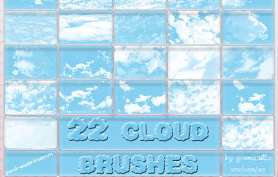 20 Free Useful Water and Cloud Brushes resource for Photoshop Users 18