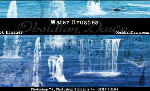 20 Free Useful Water and Cloud Brushes resource for Photoshop Users 3