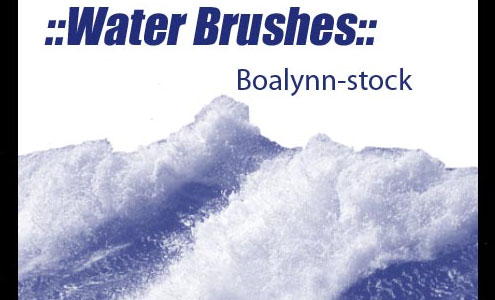 20 Free Useful Water and Cloud Brushes resource for Photoshop Users 7