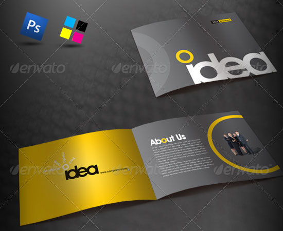 20 Most Creative Brochure Design for Designers 1