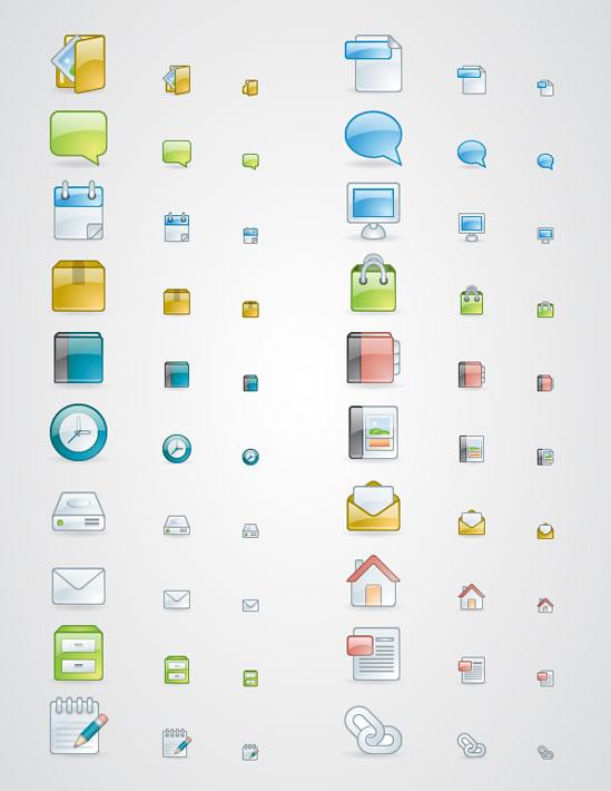 10 Useful Fresh Free Icon Set 4