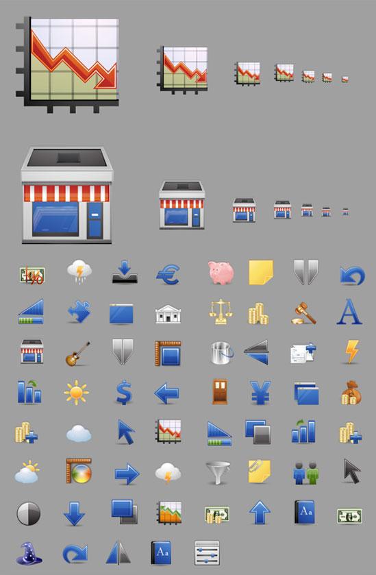 10 Useful Fresh Free Icon Set 7