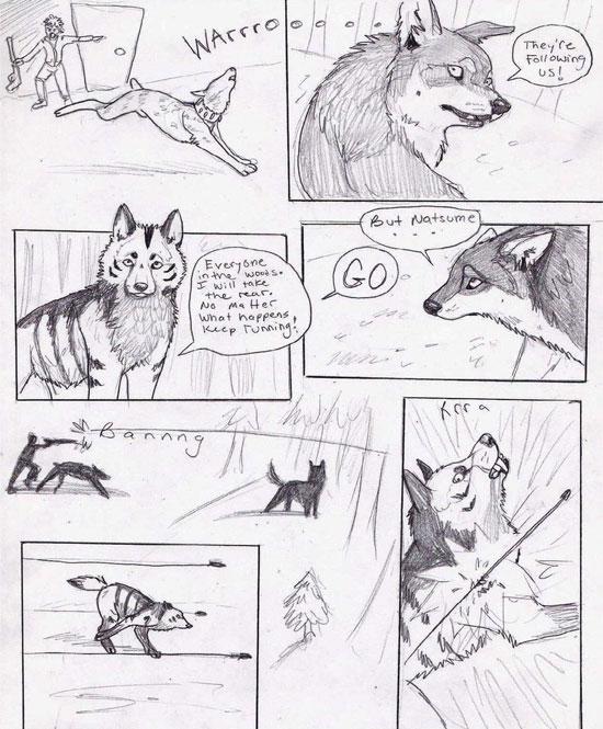 Monday Mania #1: Beautiful Story in Comic Art Sketch-1 18