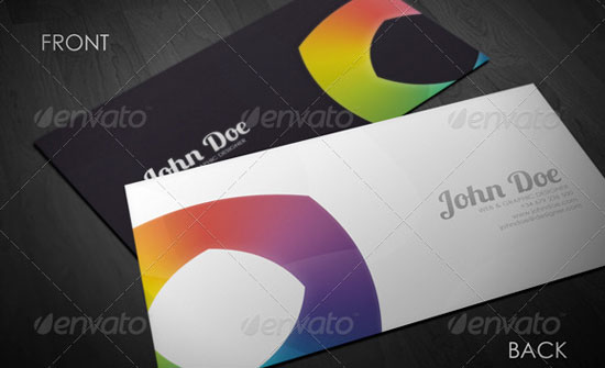 10 Attractive Business Cards with Source File 5