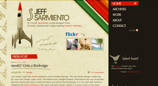 20 Creative Design of Freelance Portfolio 19