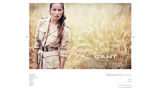 Beautiful Photography Portfolio Designs 1