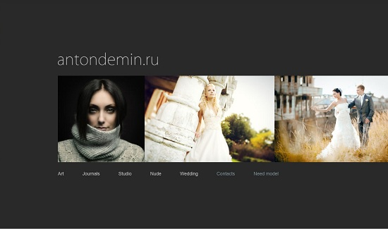 Beautiful Photography Portfolio Designs