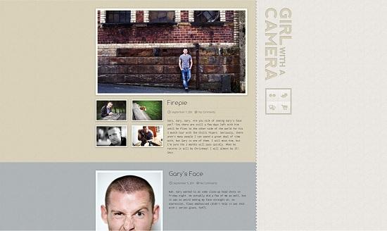 Beautiful Photography Portfolio Designs 13