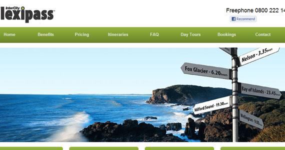 20 Creative Web Design in green Color