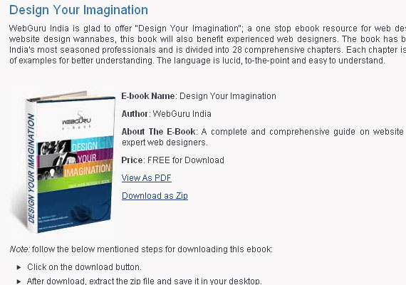 20 Free e-Books for Developers and Designers 1