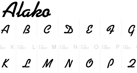 10 Excellent Free Handwritten Fonts 3