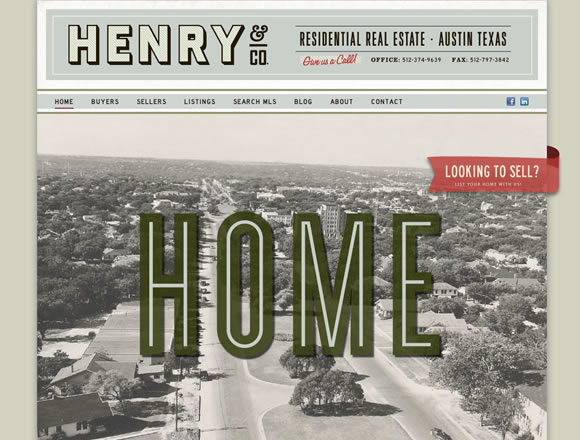 20 Excellent Examples of using Typography in Web Design 11