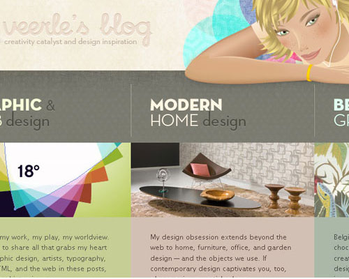 20 Excellent Examples of using Typography in Web Design 12