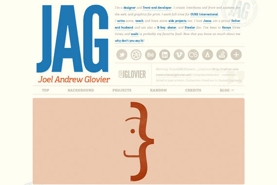 20 Excellent Examples of using Typography in Web Design