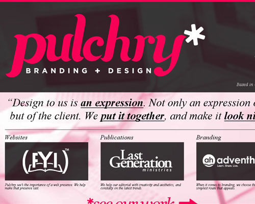 20 Excellent Examples of using Typography in Web Design 6
