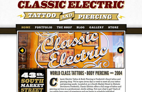 20 Excellent Examples of using Typography in Web Design 7