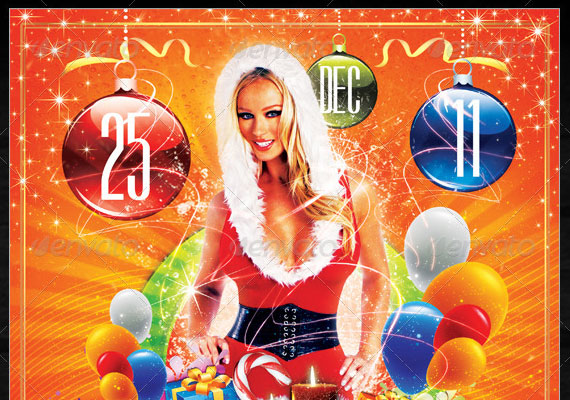 15 Awesome Christmas Poster Design 1