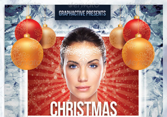15 Awesome Christmas Poster Design 2