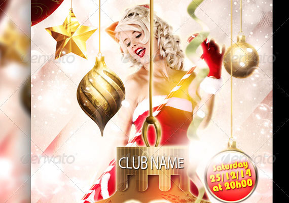 15 Awesome Christmas Poster Design 5
