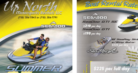 10 Excellent Rack Card Printing Design Inspirations
