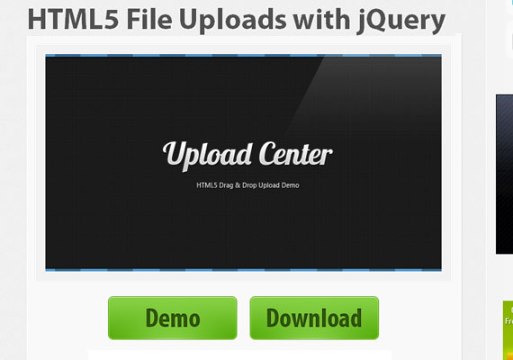HTML5 File Uploading Tutorials for Designers and Developers 5