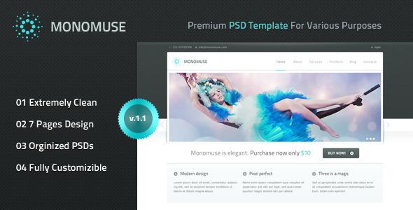 20 Delightful Premium PSD Web Templates 9