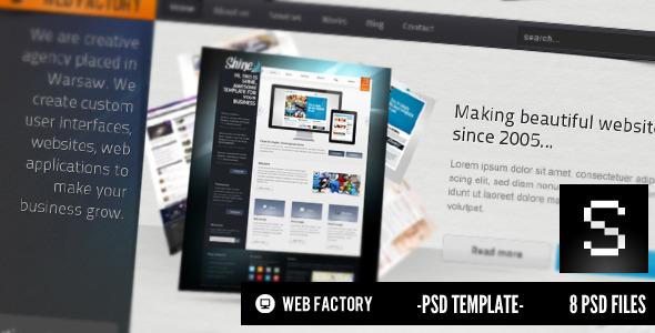 20 Delightful Premium PSD Web Templates 11