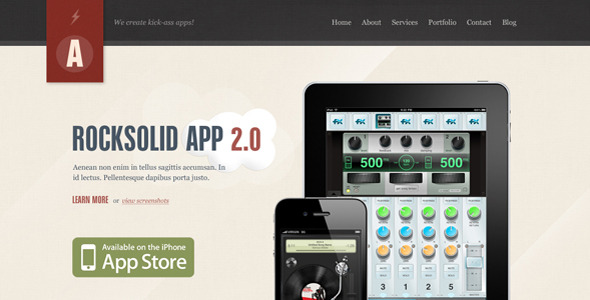 20 Delightful Premium PSD Web Templates