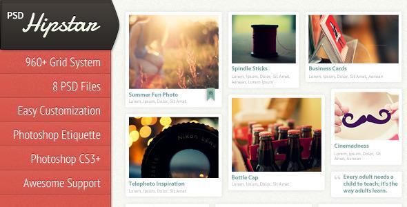 20 Delightful Premium PSD Web Templates 2