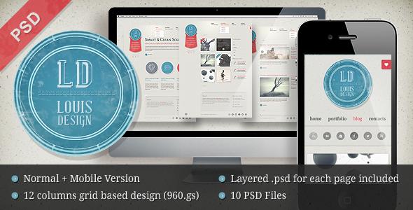 20 Delightful Premium PSD Web Templates 4