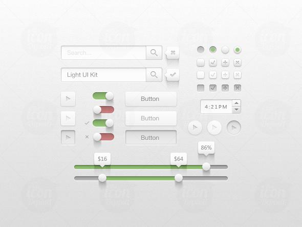 New Creative UI Kit Free Download