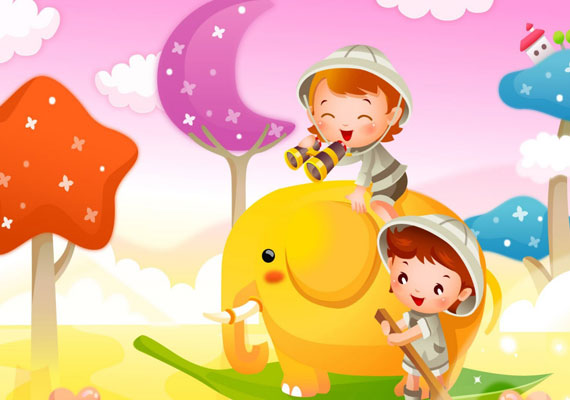 20 Beautifully Illustrated Cartoon Wallpaper 6