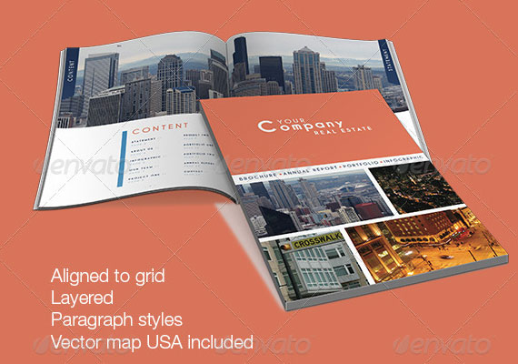 Excellent Collection of Brochure Design for Inspiration 3