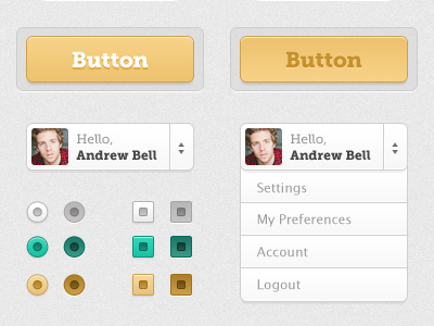 20 Beautiful Web 2.0 Button Designs For Your Inspiration