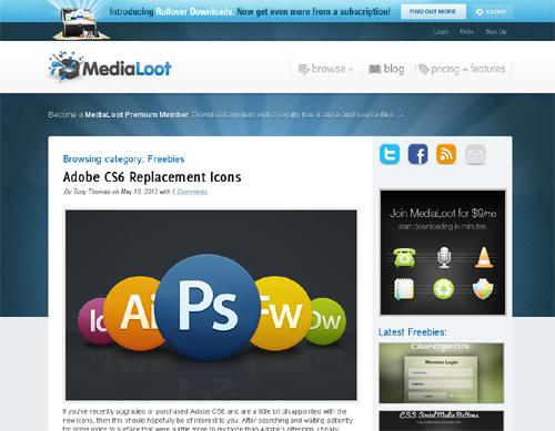 20 Blogs Offering Web Design Freebies