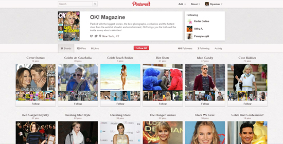 20 Top Brands To Follow On Pinterest