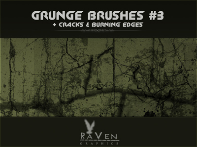 20 Free Photoshop Grunge Brushes 16