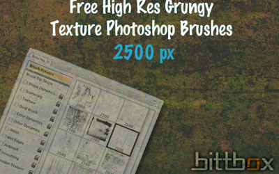 20 Free Photoshop Grunge Brushes 5