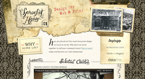 15 Scrapbook Style Web Design for Creative Inspiration 1