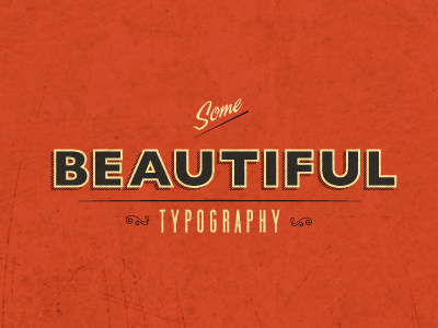 40 Inspirational Typography Designs 1
