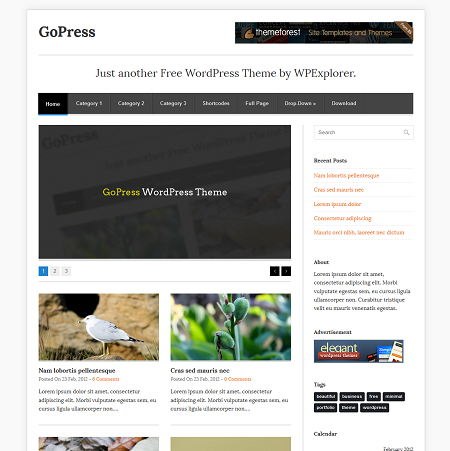 30 New Free High-Quality WordPress Themes 16