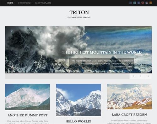 30 New Free High-Quality WordPress Themes 1