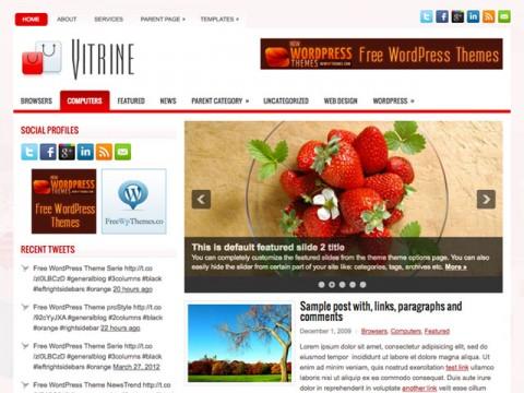 30 New Free High-Quality WordPress Themes 21