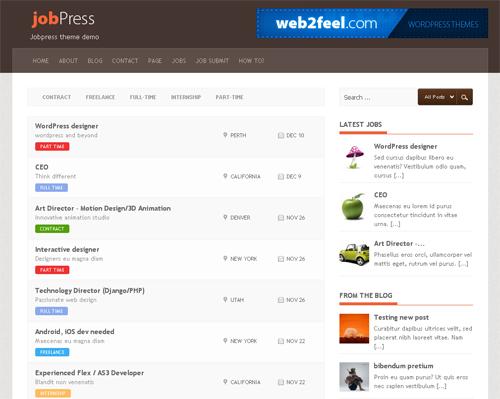 30 New Free High-Quality WordPress Themes 25