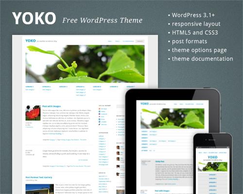 30 New Free High-Quality WordPress Themes 2