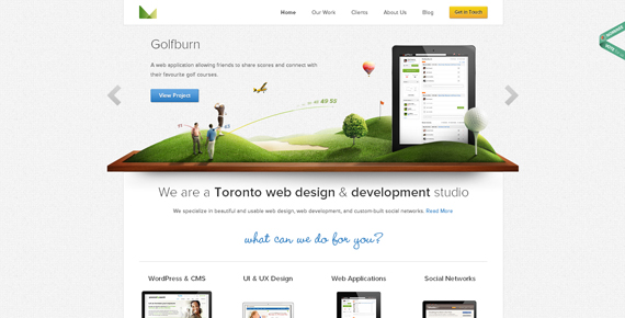25 Stunning CSS3 Web Designs For Your Inspiration 8