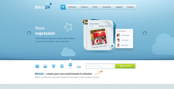 25 Stunning CSS3 Web Designs For Your Inspiration 4