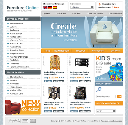 22 Free High-Quality Ecommerce Templates