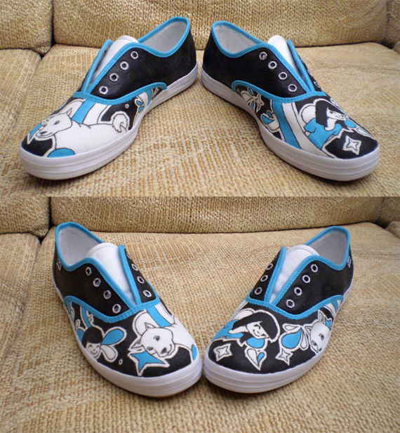 19 Awesome and Inspiring Custom Shoe Designs 9