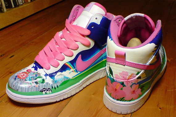 19 Awesome and Inspiring Custom Shoe Designs 10